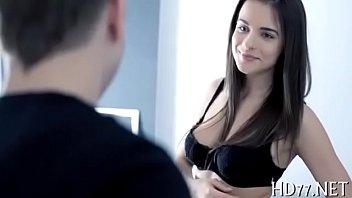 Quente namorada no vidios de sexo fica pelada metendo