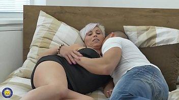 Macho em sexo com tia