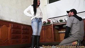Boa cadela linda com prazer no porno brasileiro